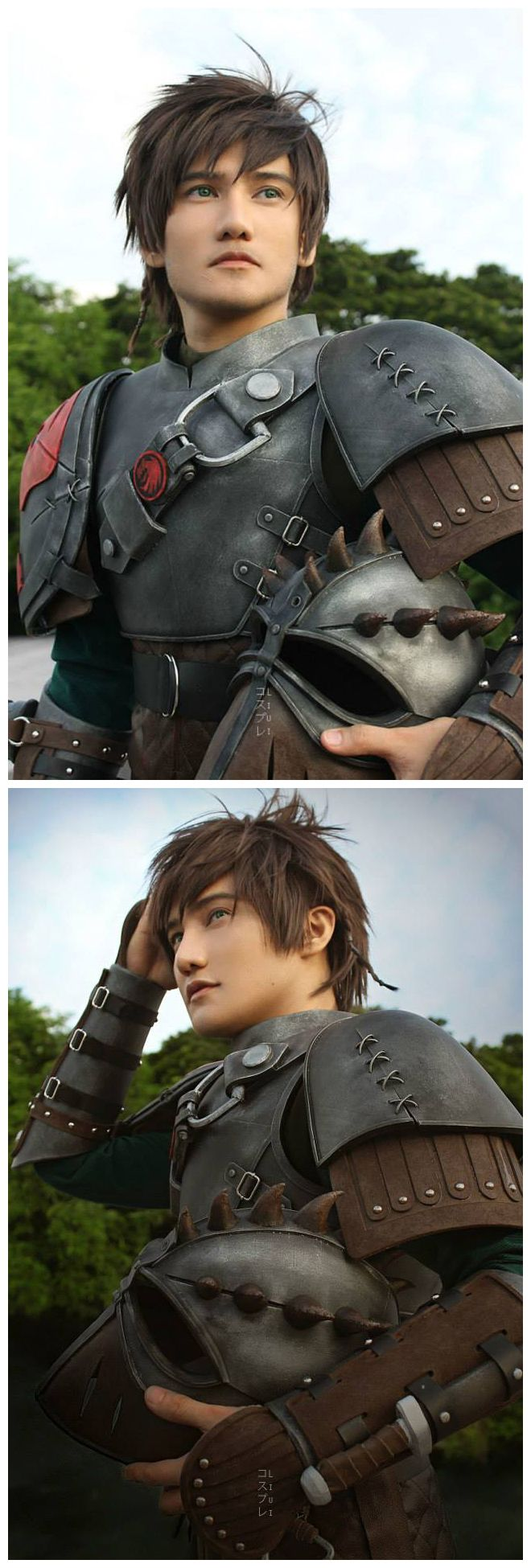 Hiccup (How To Train Your Dragon 2) Cosplay. hot damn this is one of the best cosplays I've ever seen.