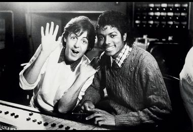 Rewinding the Charts: In 1983, Paul McCartney & Michael Jackson Thrilled With 'The Girl Is Mine'