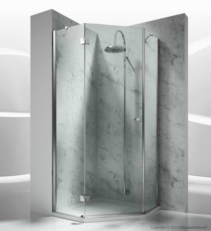 trs : sintesi shower enclosures models - pivot door | by @vismaravetro