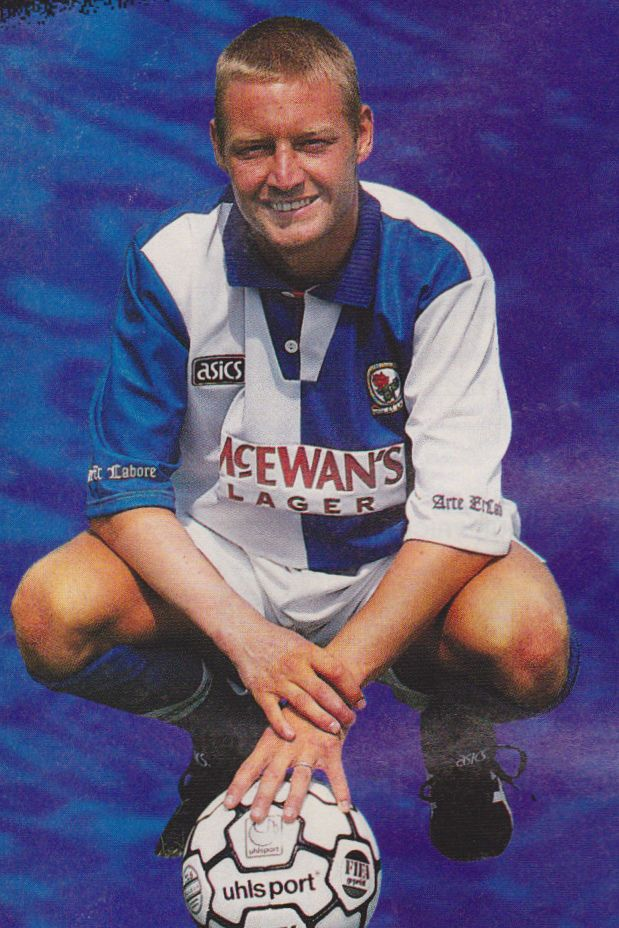 Football Photo DAVID BATTY Blackburn Rovers 1994-95