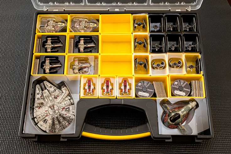 My non-Plano storage solution | Star Wars: X-Wing Miniatures Game | BoardGameGeek
