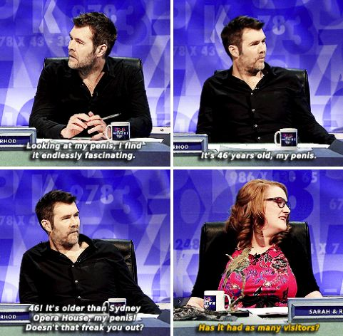 "When Millican tamed yet another male comedian. | 34 Times ""8 Out Of 10 Cats Does Countdown"" Was Almost Too Funny"