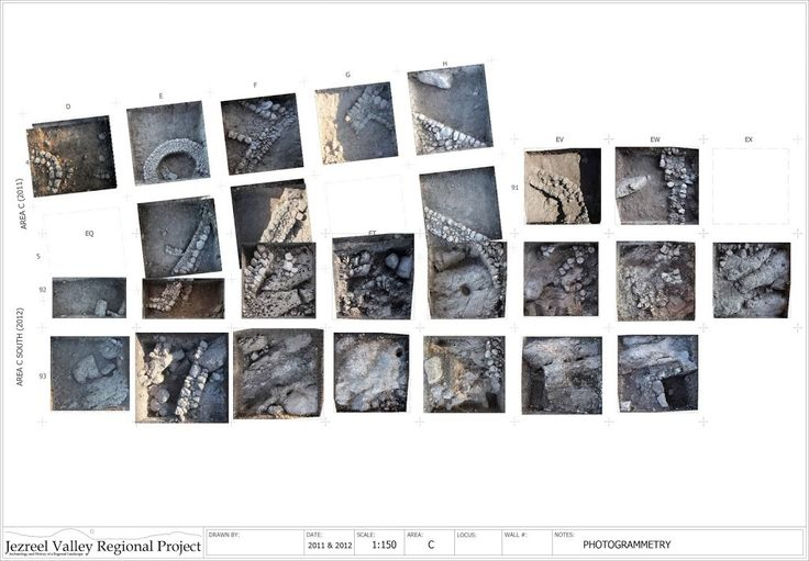 Practical Uses for Photogrammetry on Archaeological Excavations - The Jezreel Valley Regional Project