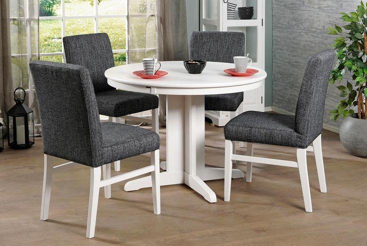 MODULI-pöytä halk 100cm ja LUNA-verhoillut tuolit