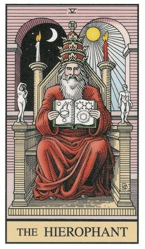 35 best The HIEROPHANT Tarot Card images on Pinterest ...  35 best The HIE...