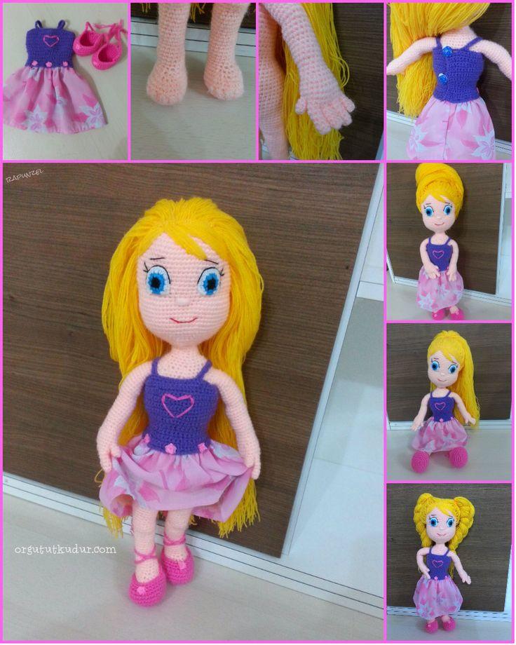 amigurumi örgü rapunzel bebek https://www.facebook.com/Amigurumi-%C3%B6rg%C3%BC-oyuncak-evi-605172292844560