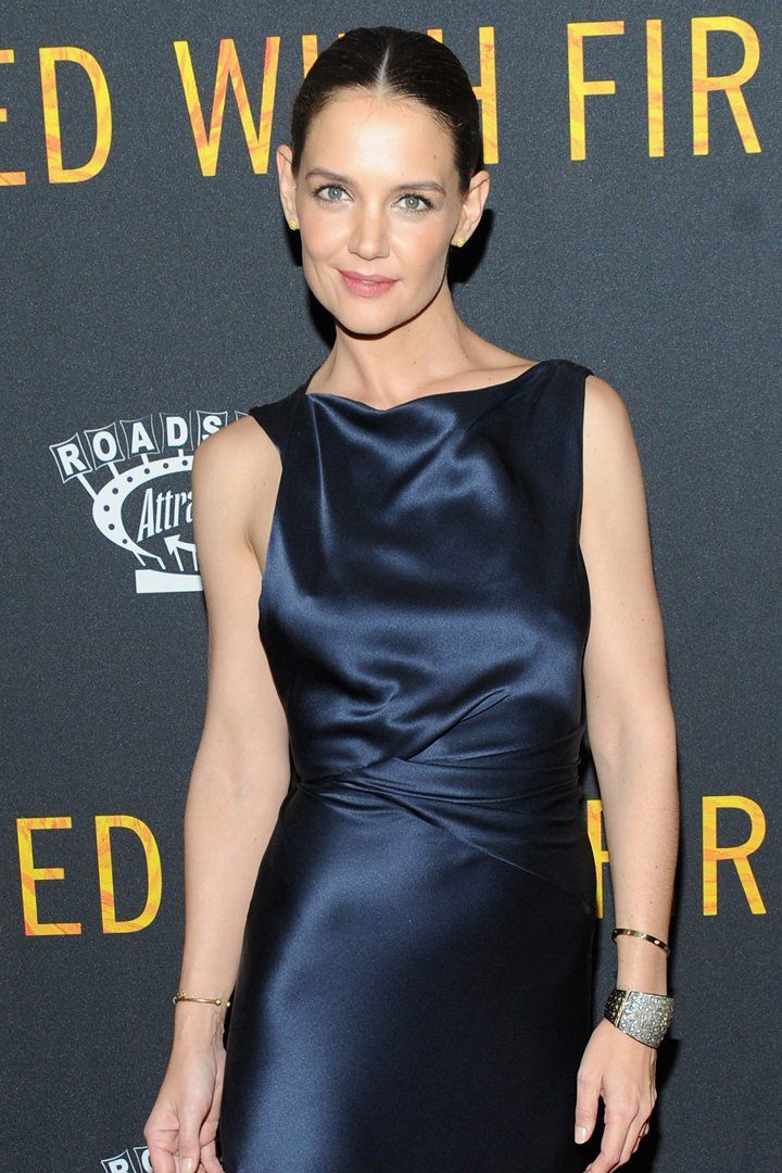 Katie Holmes Mixes Up Her Look For Her Big Premiere in NYC