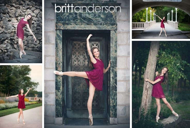 Senior Portrait / Photo / Picture Idea - Girls - Dance / Dancer - Ballet / Ballerina