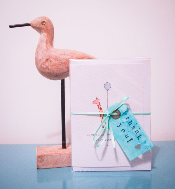 Lovely Little Lucy 'New Born' greeting cards @ lazytoaddesigns.co.uk