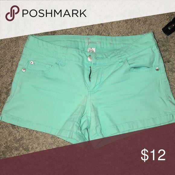 Teal shorts Really cute, teal shorts! CP Jeans Shorts