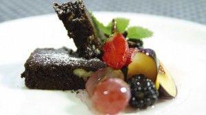Brownies+med+marineret+frugt