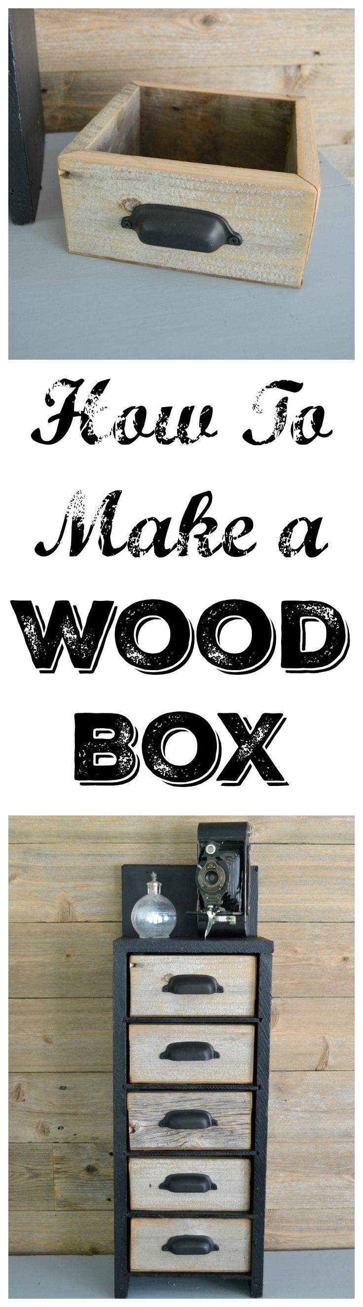 Do you love wood boxes? Do you not love their hefty price tag? Find out how to make a wood box without a ton of money invested.