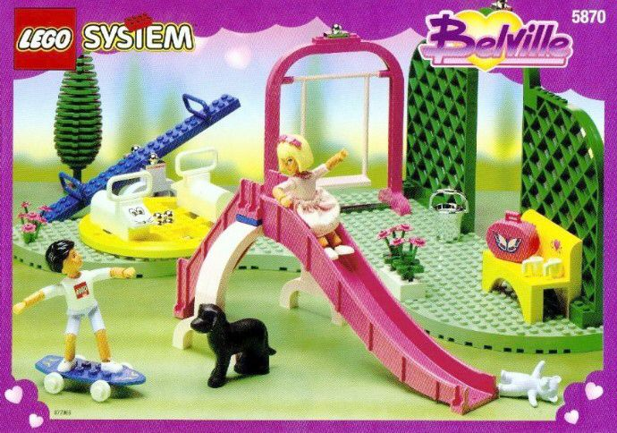 Pretty Playland Lego Belville set. I'm almost positive Allison had this set when we were kids. It was the coolest Lego set ever!