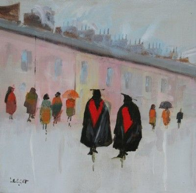Janet LEDGER - The Walls of Jericho, Oxford