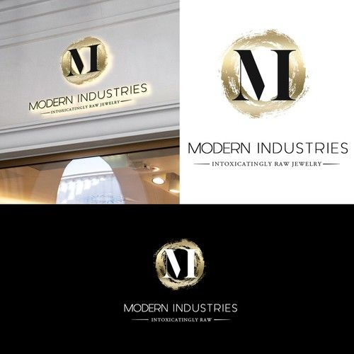 Modern Industries Create An Edgy Industrial Classy Logo For Jewelry Company Named Modern Industries Modern Industry Designs A Classy Logos Geometric Logo Hipster Logo