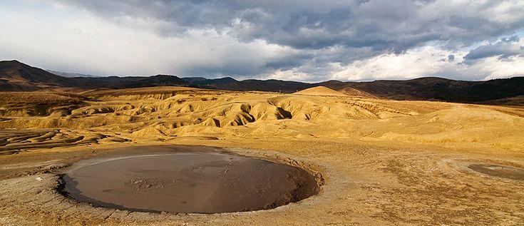 Mud Volcanoes, Buzau, Romania