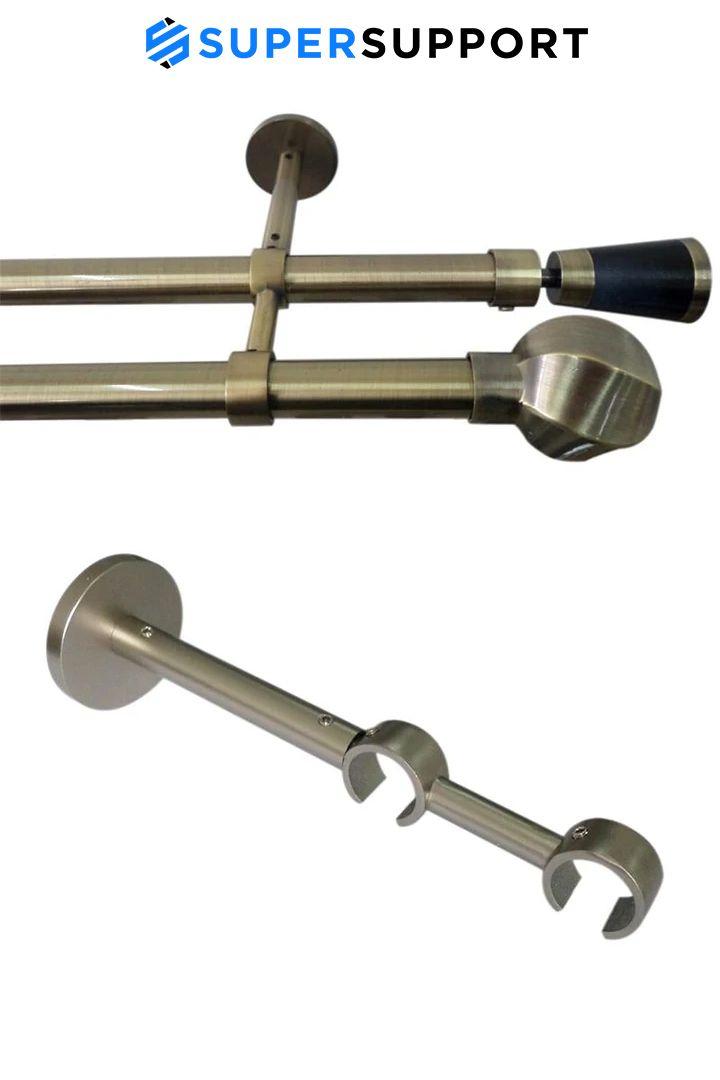 support double tringle en aluminium