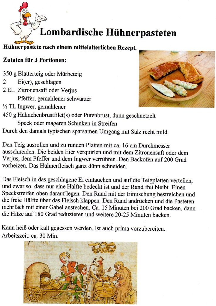110 besten Rezepte/Dinge aus dem Mittelalter Bilder auf Pinterest ...