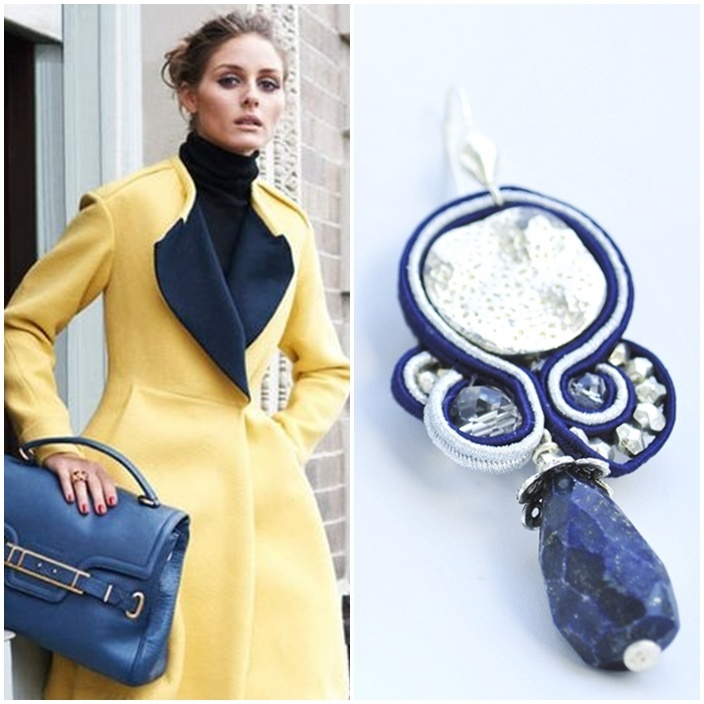 earring outfit  If Olivia wore SILVER BLUE #earrings with this #outfit?   http://edefjewels.blogspot.it/2012/09/silver-blue.html