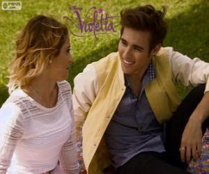 Puzzle de El amor de Violetta y Leon, Violetta 3 para imprimir