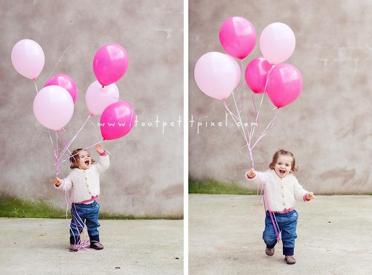 Ballon girl! (www.toutpetitpixe...)