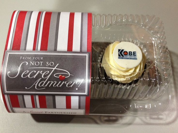 We have a secret admirer sending us cupcakes! Yum!