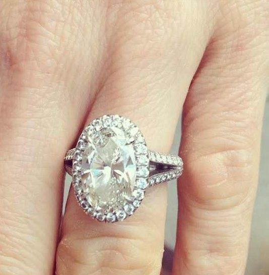 Oval vintage engagement rings   Oval Engagement Ring Inspiration