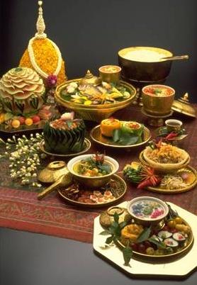 Muestra de cocina de Thailandia