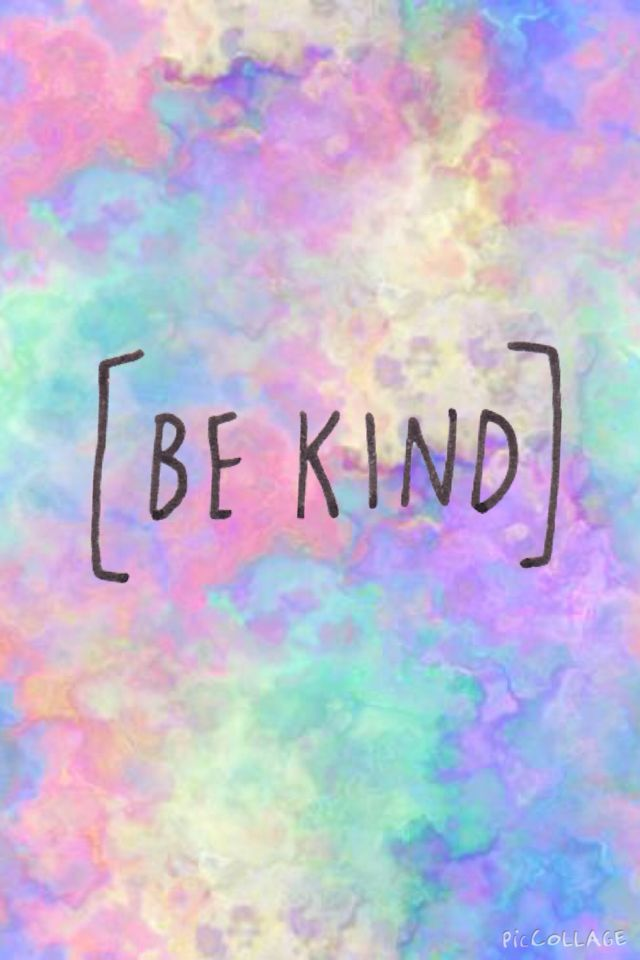 [ BE KIND ]