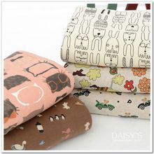 50*160 см хорошо эластичный младенческая нижнее белье ткани детское постельное белье трикотажные хлопчатобумажные ткани хлопчатобумажной ткани с Лайкрой(China (Mainland))