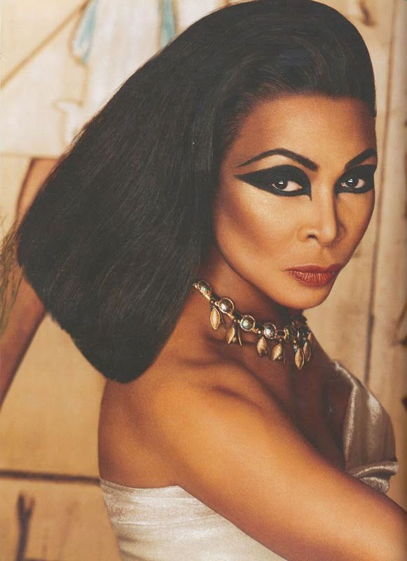 Tina Turner as Cleopatra | Transformation by Kevyn Aucoin