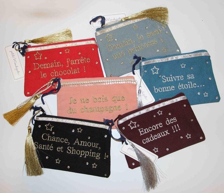 Les pochettes Petite Mendigote s'invitent chez Box bazar en cette fin d'année! Avec leurs messages, elles sont parfaites pour offrir à votre meilleure copine ou votre soeur chérie! À chacune de dire son mot!