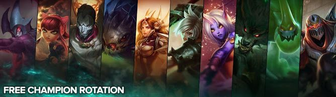 awesome Free Champion Rotation, Week of July 25th