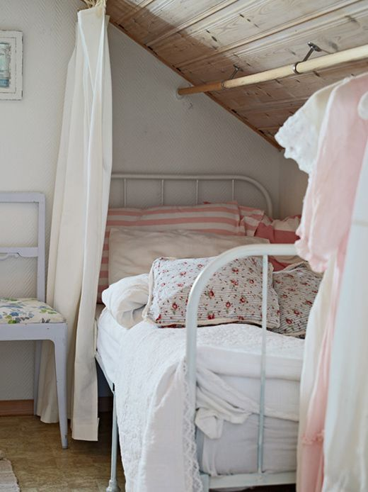 Charming country bedroom for a girl of any age