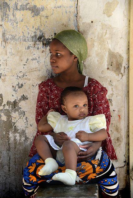 Mom and child - Zanzibar