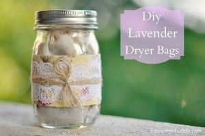 13 Magical Things To Make With Lavender • 09. Lavender Dryer Bags • http://www.themotherhuddle.com/diy-lavender-dryer-bags/