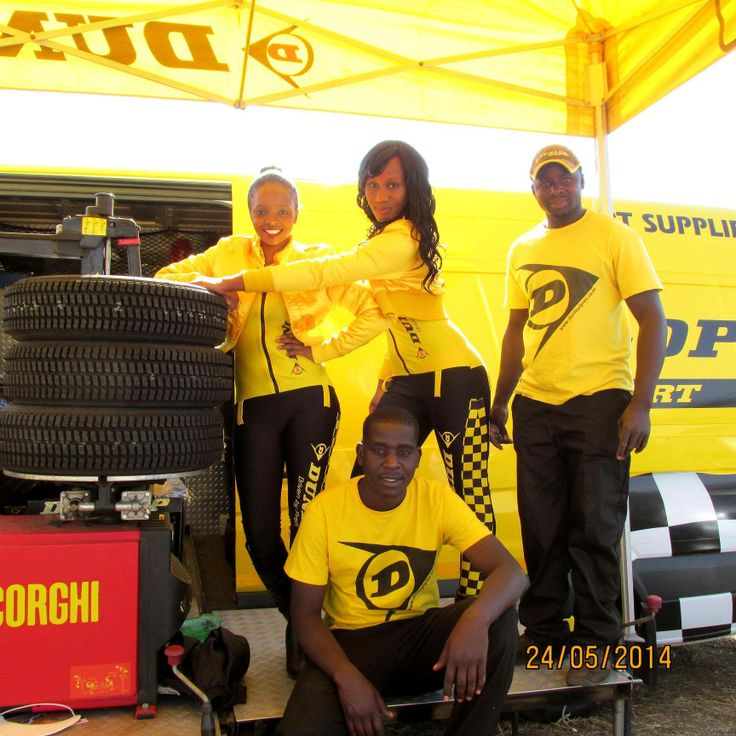 Where would we be without our trusty ATS mobile tyre fitment truck and crew? Thanks guys, for all the hard work!