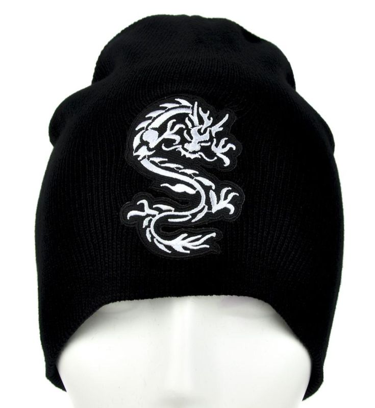Chinese Bruce Lee Dragon Beanie Alternative Clothing Knit Cap Martial Arts  #gamerclothing #anime #comiccon #occultclothing #wallet
