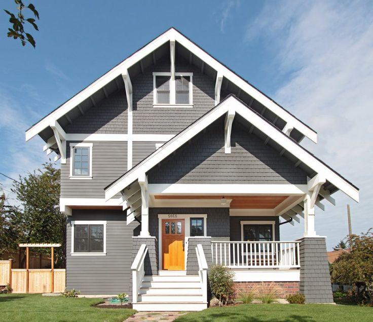 Best 25+ Gray House White Trim Ideas On Pinterest