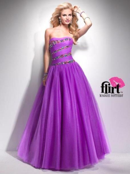 Astra Formal | Flirt 4744 | Size 12 Purple