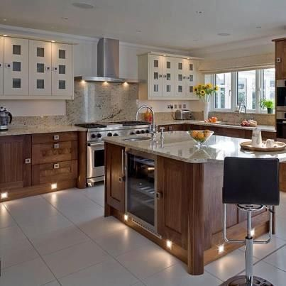 Modern And Beautiful Light Kitchen Like Fluorescent Lighting, Spotlights  Kitchen, And Pendant Lights. Find This Pin And More On STATE OF THE ART ... Design