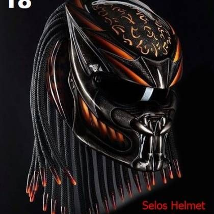 MOTIF: THERE ARE 4 MOTIF CHOICE .. PLEASE AND DETERMINE MOTIVE THAT YOU WANT.  Condition: New Material: Fiber Artwork on Full-Faced Helmet DOT&SNI  Color: As seen in the picture but pattern will be slightly differ from one peice to the next. Due to all of artwork made by hand so you will receive one-of-a-kind helmet. Weight of Helmet: 2.8 kg (Approximately) Weight of Package: 4.0 kg (Approximately) Size: S, M, L, XL, XXL (as your choosing) S = 55-56 cm M = 57-58 cm L = ...