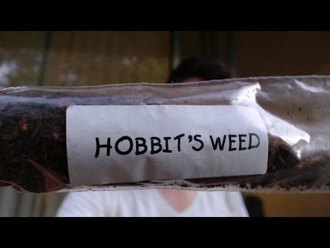 Hobbit's Weed Pipe Tobacco Review - YouTube