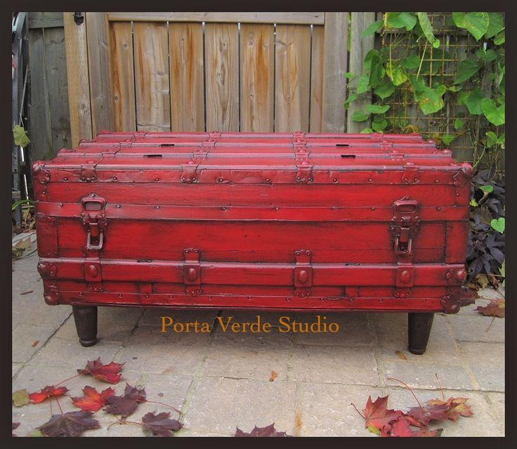 Steamer Trunk Coffee Table Ideas: 95 Best Images About Favorite Steamer Trunks & Other Home