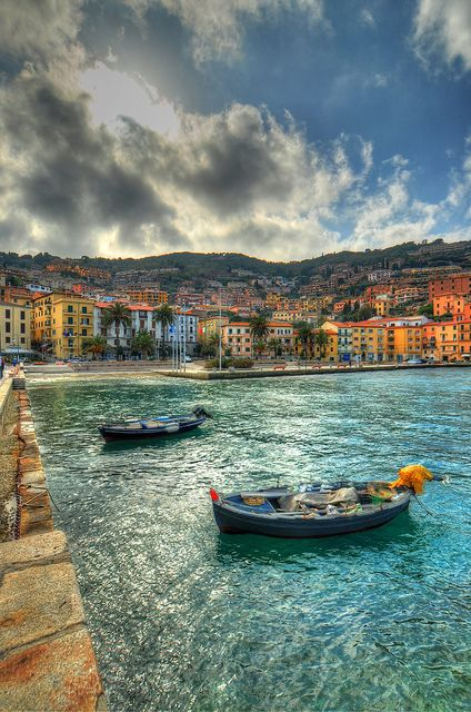 Porto Santo Stefano - HDR by reflexbeginner, via Flickr