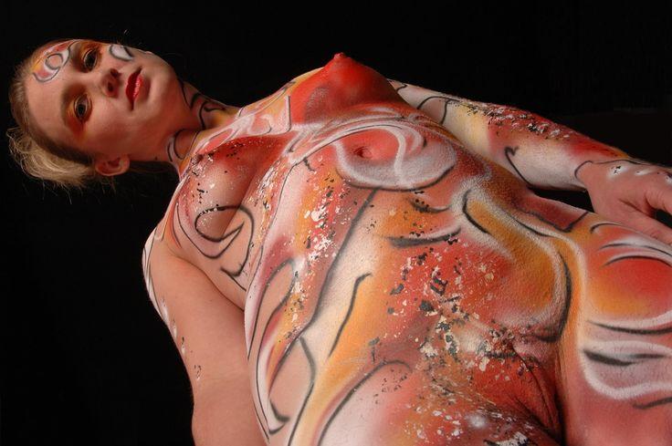 Avatar navi body paint camgirl dances