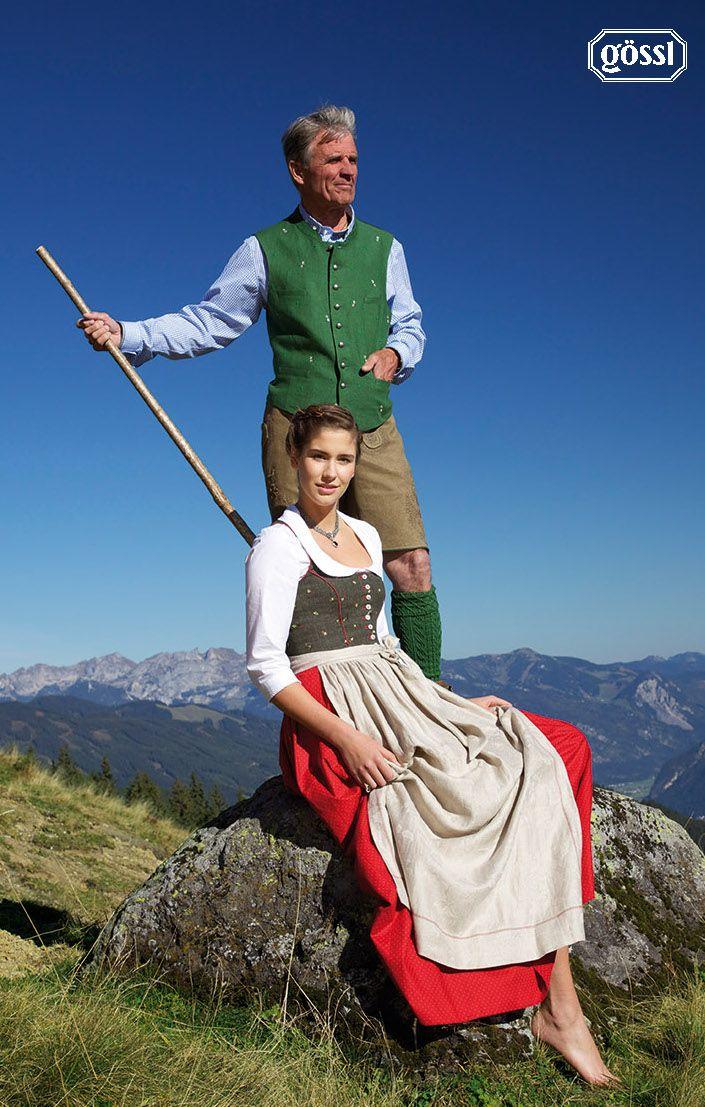 Gössl-Salzburg Dirndl Kollektion 2011. Austria