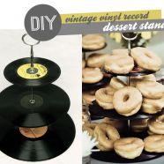 Record Dessert Stand