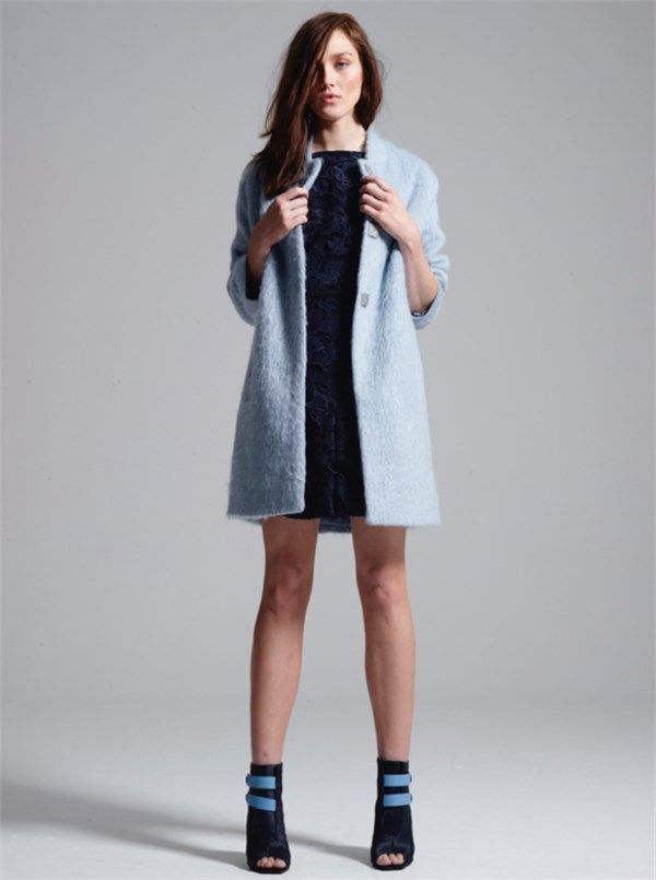 Fall Feathers Coat by MANNING CARTELL