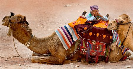 Bedul Bedouin Child. Petra Archaeologica Photo by Nora de Angelli - www.noraphotos.com -- National Geographic Your Shot